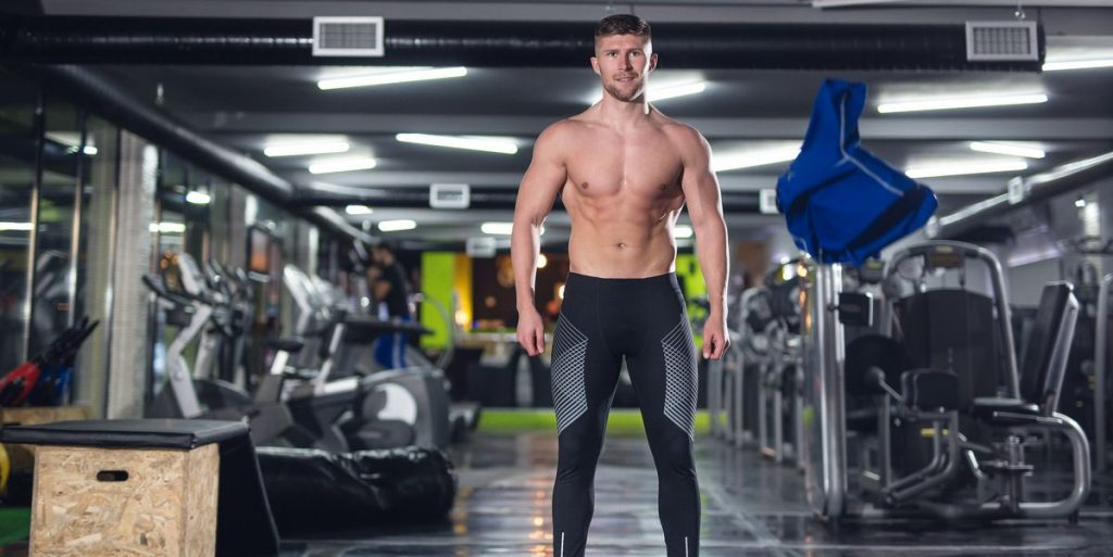 Men sport clothing for comfortable exercise
